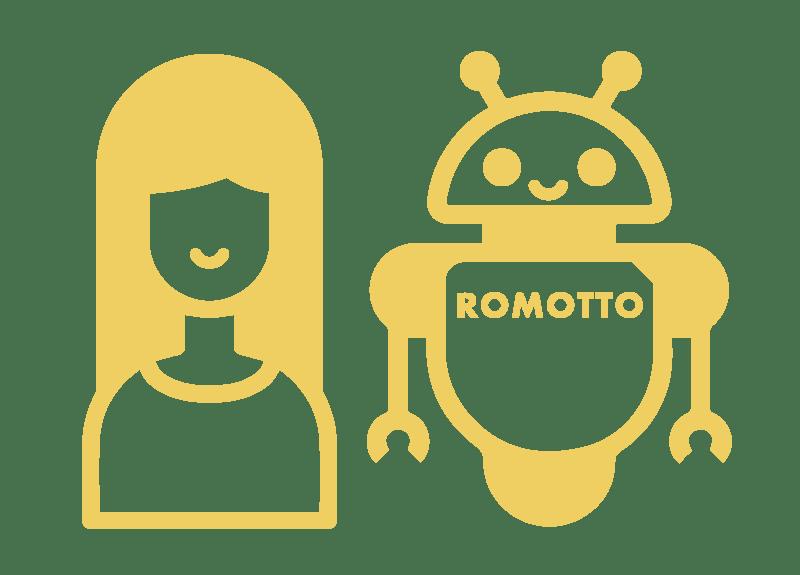 ロボットとの暮らしをご堪能ください